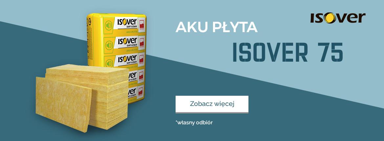 Aku-Płyta Isover gr. 75
