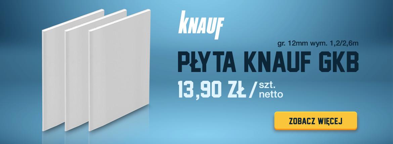 Płyta Knauf GKB gr. 12mm