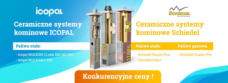 Ceramiczne systemy kominowe